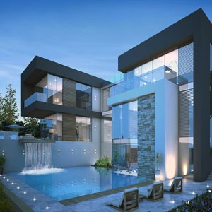 Modern Style Landscape Design