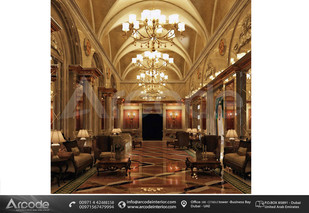 Luxuriouse Hotel Entrance