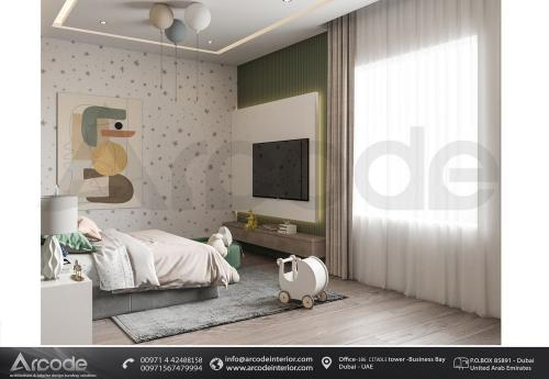 MODERN BOYS BEDROOM AREA