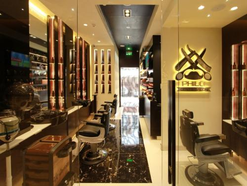 Design & Fitout Philo Gents Salon
